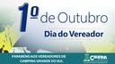 1º DE OUTUBRO: DIA DO VEREADOR