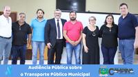 AUDIÊNCIA PÚBLICA SOBRE O TRANSPORTE PÚBLICO MUNICIPAL