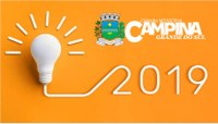 EM 2020 CONTINUAREMOS O NOSSO COMPROMISSO POR UMA CAMPINA GRANDE DO SUL MELHOR