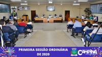 PRIMEIRA SESSÃO ORDINÁRIA DE 2020